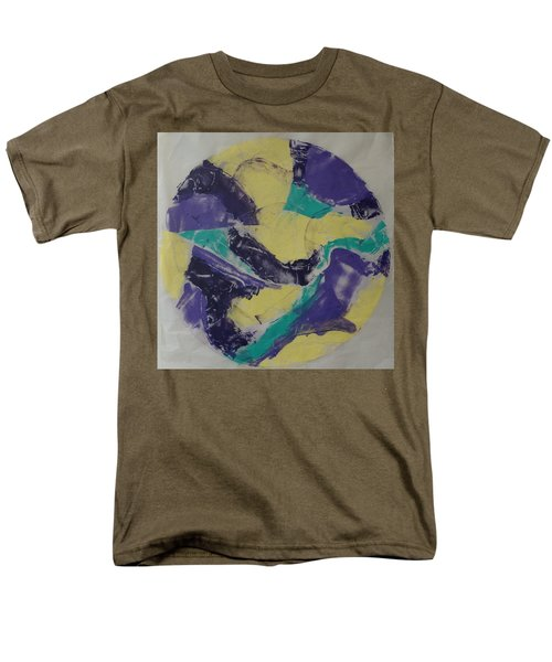 Men's T-Shirt  (Regular Fit) featuring the painting Albers Effort by Erika Chamberlin