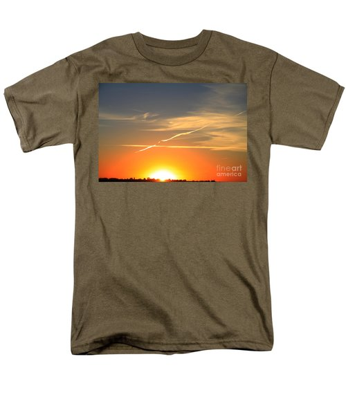 Alberta Sunset Men's T-Shirt  (Regular Fit) by Alyce Taylor