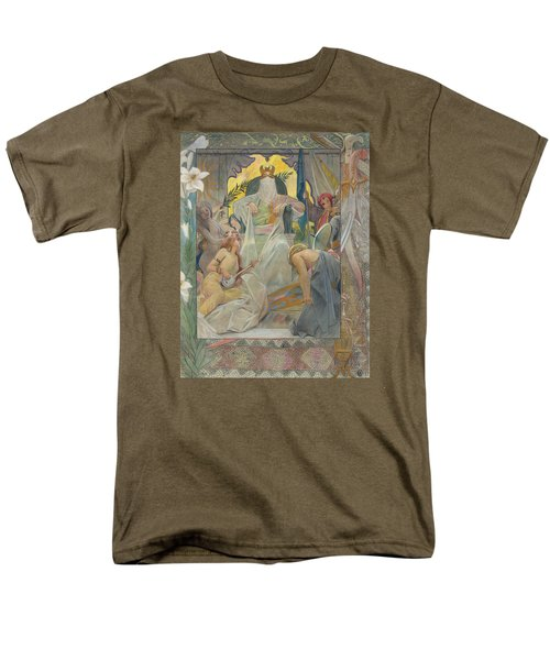 Arabian Nights By Andre Castaigne Men's T-Shirt  (Regular Fit) by Antique Art