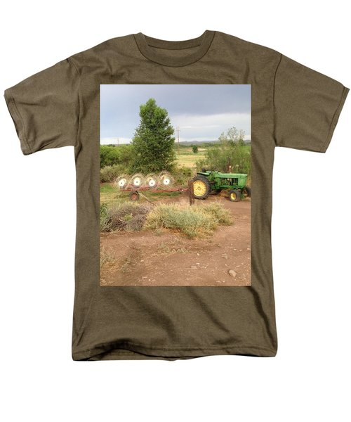 Men's T-Shirt  (Regular Fit) featuring the photograph Alfalfa Time by Erika Chamberlin