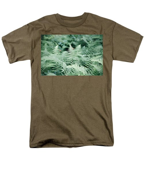 Men's T-Shirt  (Regular Fit) featuring the photograph Algonquin Ferns by David Porteus