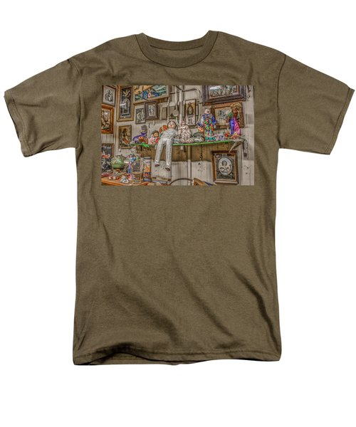 All By My Shelf Men's T-Shirt  (Regular Fit) by Ray Congrove