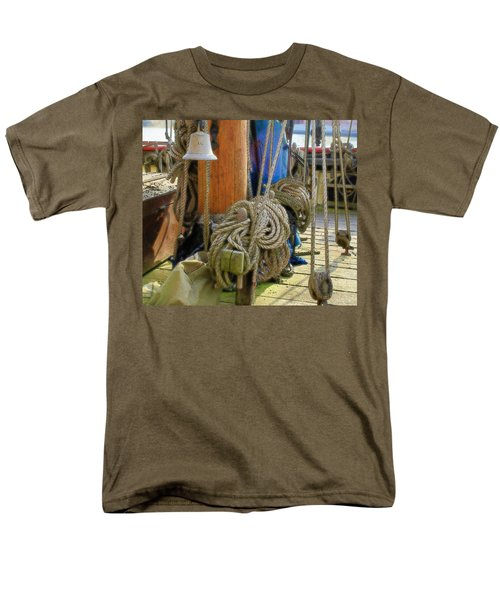 All Tied Up Men's T-Shirt  (Regular Fit) by Ron Harpham
