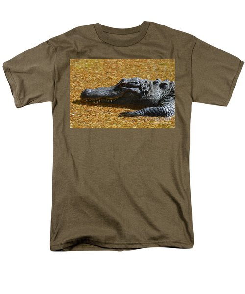 Alligator Men's T-Shirt  (Regular Fit) by DejaVu Designs