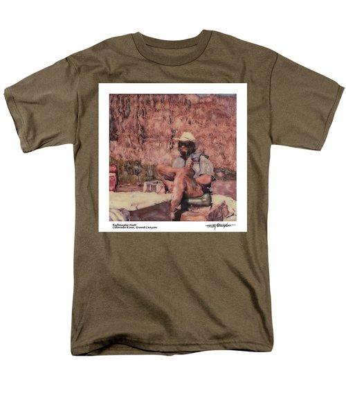 Altered Polaroid - Raft Master Matt Men's T-Shirt  (Regular Fit) by Wally Hampton