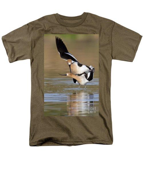 American Avocets Men's T-Shirt  (Regular Fit) by Bryan Keil
