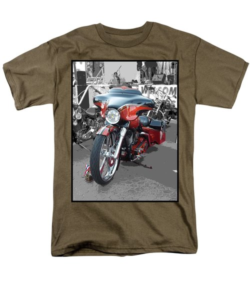 Men's T-Shirt  (Regular Fit) featuring the photograph American Heat - Palm Springs by Glenn McCarthy Art and Photography