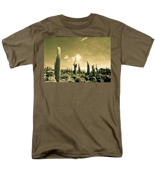 Men's T-Shirt  (Regular Fit) featuring the photograph Ancient Giants by Lana Enderle