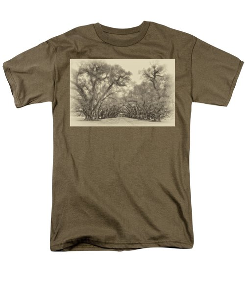 And Time Stood Still Sepia Men's T-Shirt  (Regular Fit) by Steve Harrington