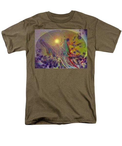 Men's T-Shirt  (Regular Fit) featuring the digital art Angel Taking Flight by Alison Caltrider