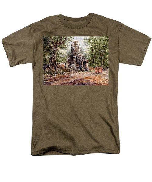 Angkor Temple Gate Men's T-Shirt  (Regular Fit)