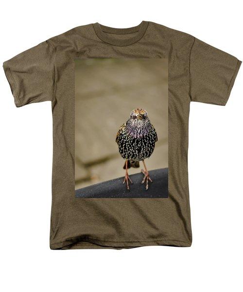 Angry Bird Men's T-Shirt  (Regular Fit) by Heather Applegate