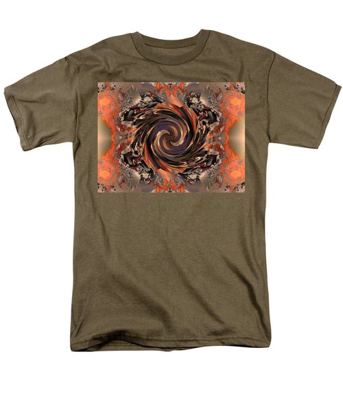 Another Swirl Men's T-Shirt  (Regular Fit) by Claude McCoy