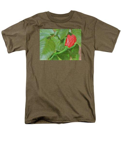 Arboretum Rose Men's T-Shirt  (Regular Fit) by Donna  Manaraze