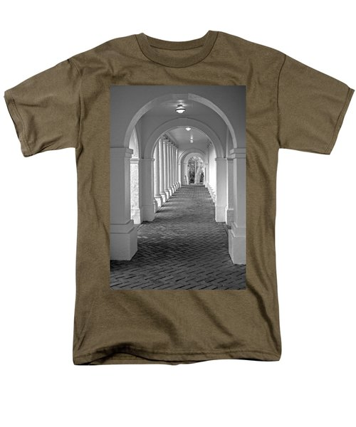 Arches At The Rotunda At University Of Va 2 Men's T-Shirt  (Regular Fit) by Jerry Gammon