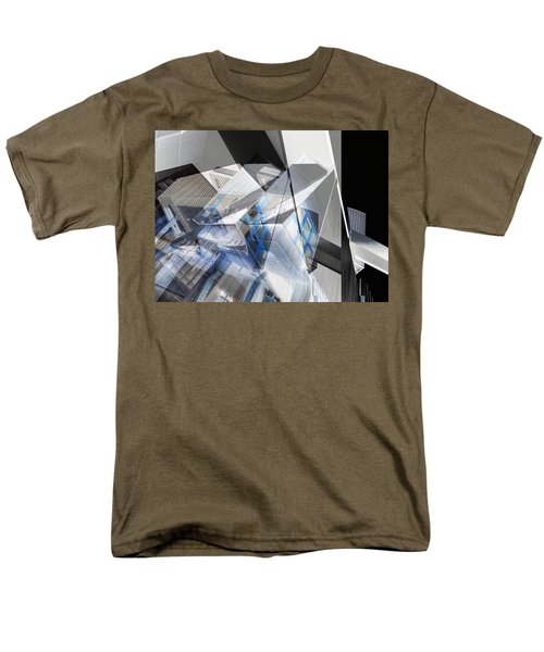 Architectural Abstract Men's T-Shirt  (Regular Fit) by Wayne Sherriff