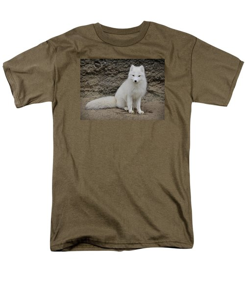 Arctic Fox Men's T-Shirt  (Regular Fit) by Athena Mckinzie