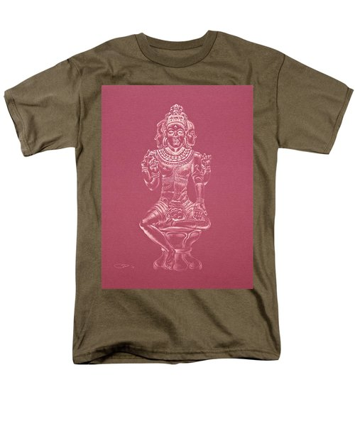 Men's T-Shirt  (Regular Fit) featuring the drawing Ardhanarishvara II by Michele Myers