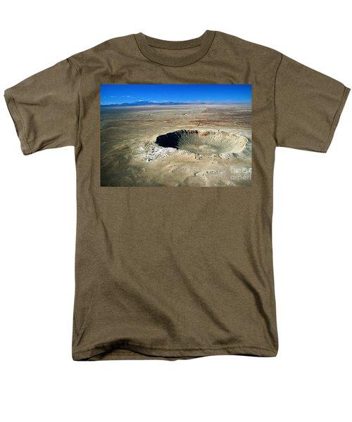 Arizona Meteor Crater Men's T-Shirt  (Regular Fit) by Pg Reproductions