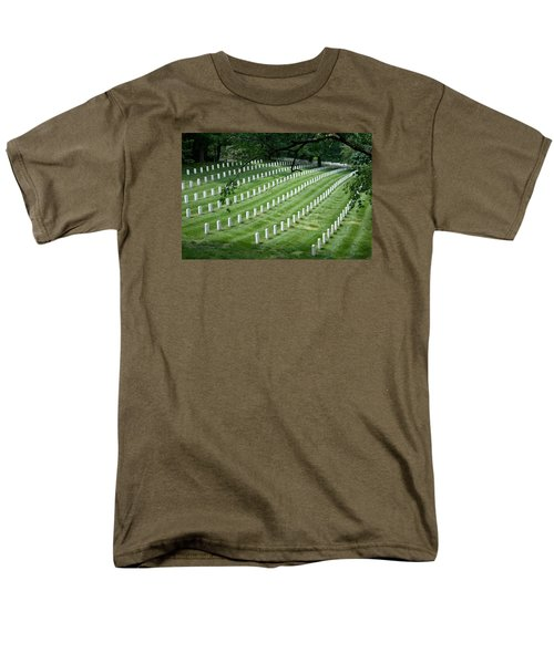Arlington National Cemetery Men's T-Shirt  (Regular Fit) by Tim Stanley