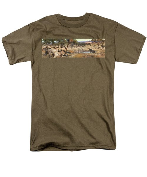 Arrival Men's T-Shirt  (Regular Fit) by Rob Corsetti