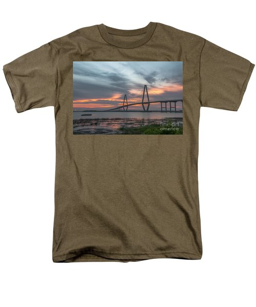 Orange Nebulous Men's T-Shirt  (Regular Fit) by Dale Powell