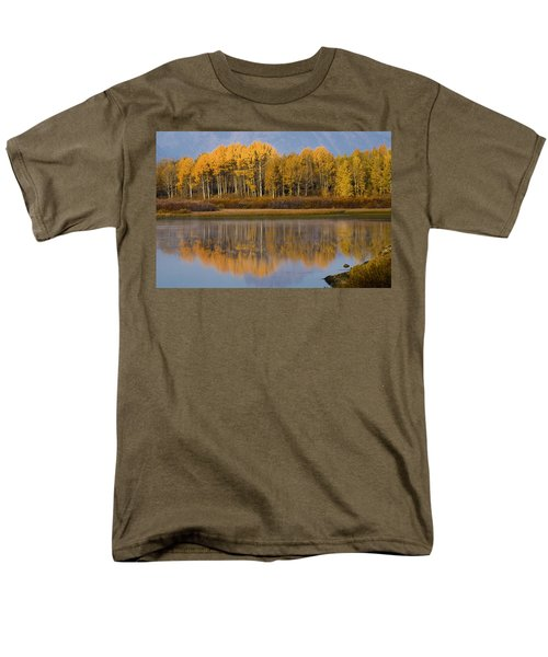 Men's T-Shirt  (Regular Fit) featuring the photograph Aspen Reflection by Sonya Lang