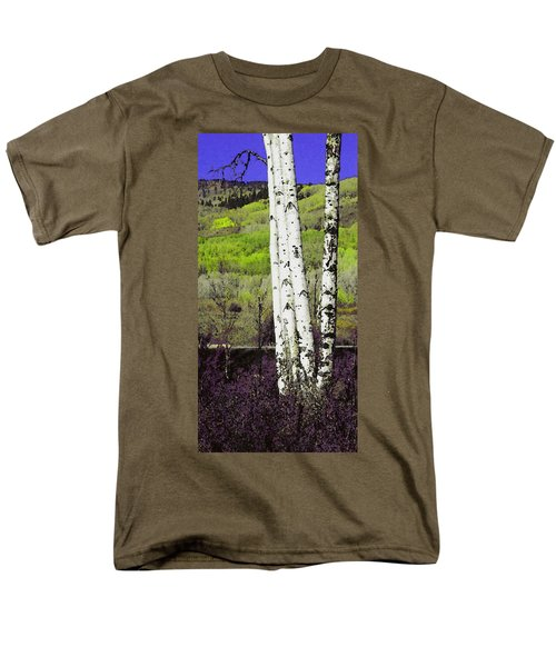 Aspens 4 Men's T-Shirt  (Regular Fit) by David Hansen