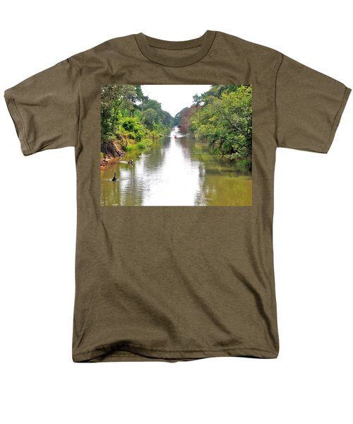 Assawoman Canal - Delaware Men's T-Shirt  (Regular Fit)