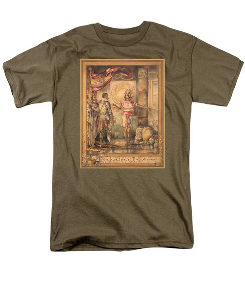 Atahualpa's Ransom Helen Maitland Armstrong Men's T-Shirt  (Regular Fit) by Paul Ashby Antique Paintings