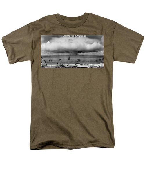 Atomic Bomb Test Men's T-Shirt  (Regular Fit)