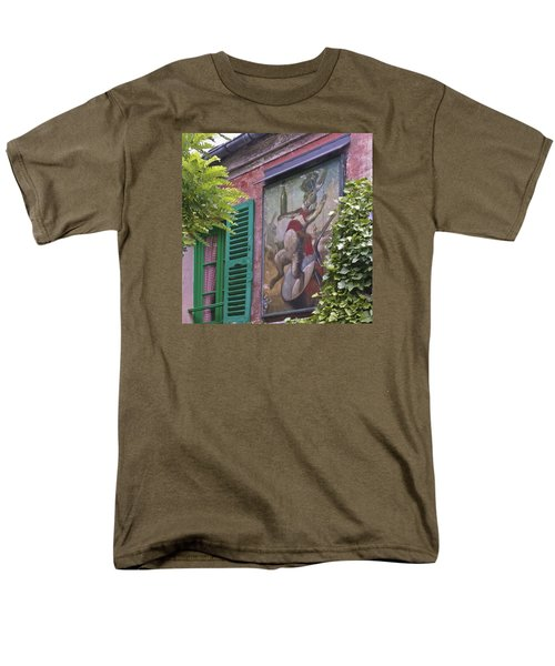 Au Lapin Agile Men's T-Shirt  (Regular Fit) by Alan Toepfer