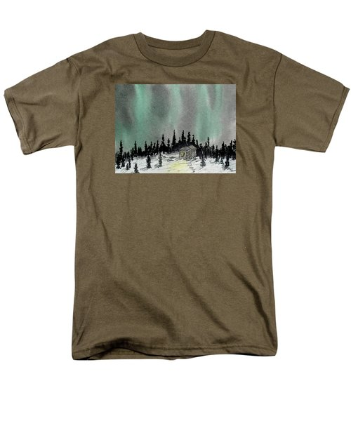 Aurora Magic - Dance Of The Lights Men's T-Shirt  (Regular Fit) by R Kyllo