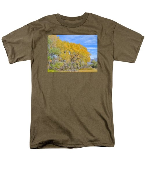 Autumn Colors Men's T-Shirt  (Regular Fit) by Marilyn Diaz