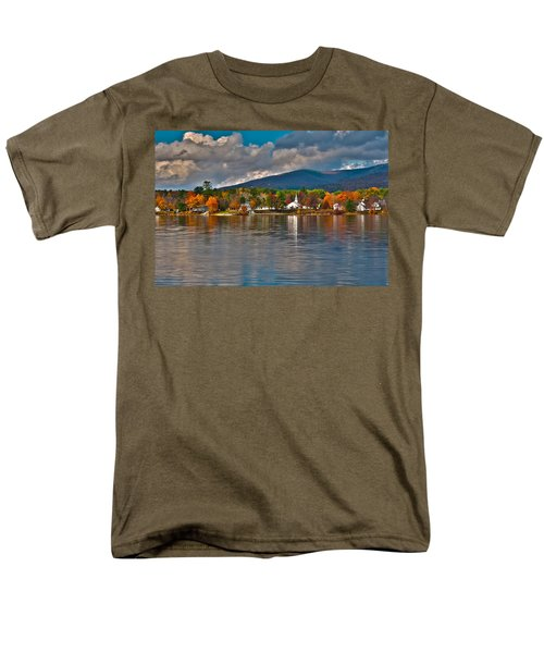 Autumn In Melvin Village Men's T-Shirt  (Regular Fit) by Brenda Jacobs