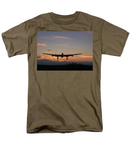 Avro Lancaster - Dawn Return Men's T-Shirt  (Regular Fit) by Pat Speirs