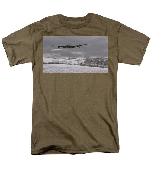Avro Lancaster - Limping Home Men's T-Shirt  (Regular Fit) by Pat Speirs