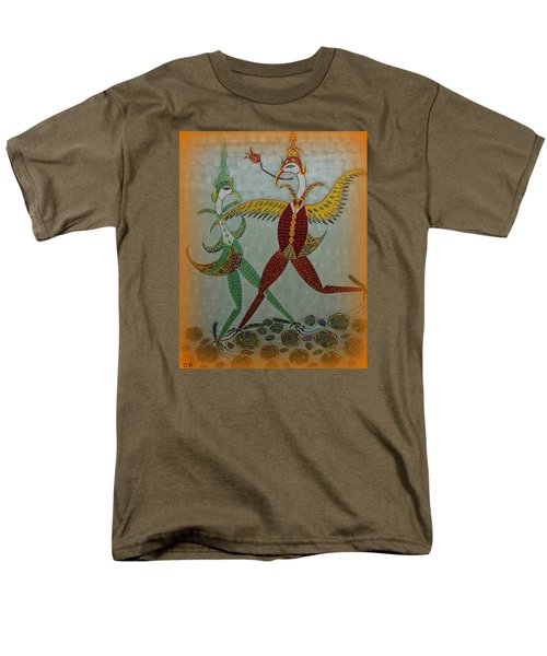 Babe Let's Tango Men's T-Shirt  (Regular Fit) by Marie Schwarzer