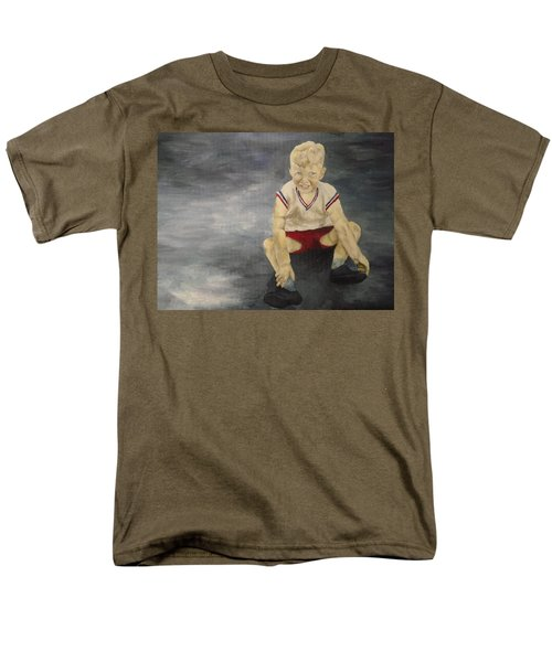 Men's T-Shirt  (Regular Fit) featuring the painting Baby Bill  by Mary Ellen Anderson