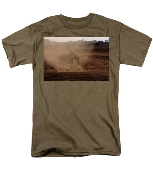 Men's T-Shirt  (Regular Fit) featuring the photograph Baby Elephant  by Amanda Stadther
