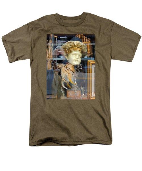 Baby Face  Men's T-Shirt  (Regular Fit) by Marcia Lee Jones