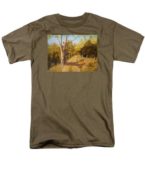 Back Road Men's T-Shirt  (Regular Fit) by Alan Lakin