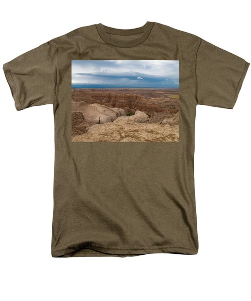 Badlands South Dakota Men's T-Shirt  (Regular Fit) by Don Spenner