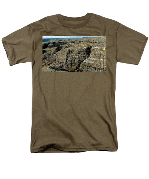 Badlands Men's T-Shirt  (Regular Fit) by Terry Reynoldson