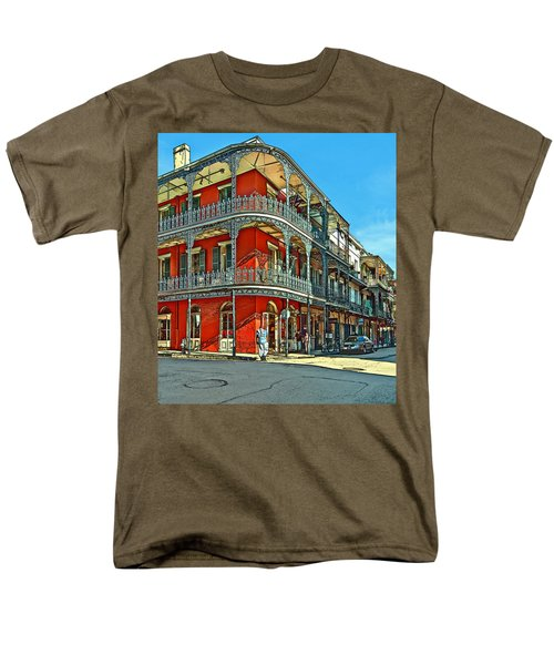 Balconies Painted Men's T-Shirt  (Regular Fit) by Steve Harrington