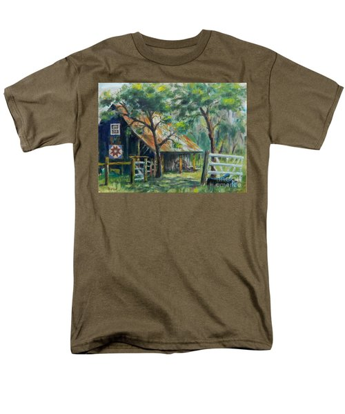 Barn Quilt Men's T-Shirt  (Regular Fit) by William Reed