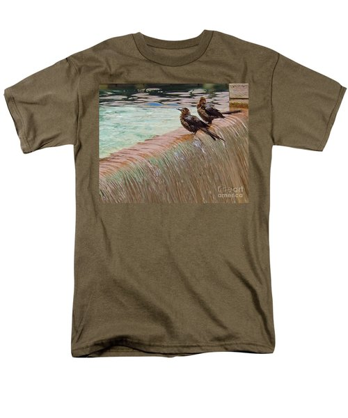 Men's T-Shirt  (Regular Fit) featuring the photograph Bath Time At The Adolphus by Robert ONeil