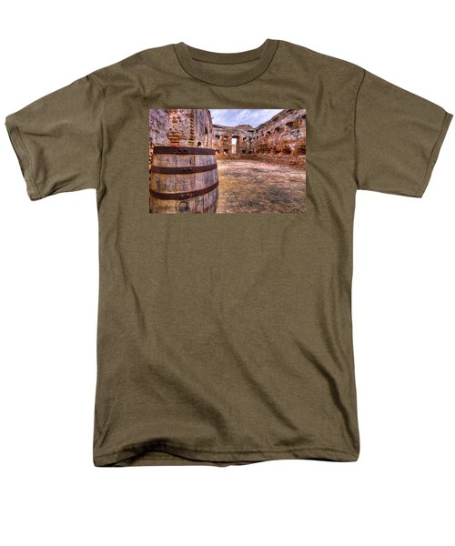 Men's T-Shirt  (Regular Fit) featuring the photograph Battalion Barrell by Tim Stanley