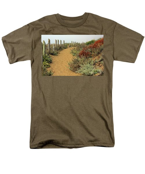 Men's T-Shirt  (Regular Fit) featuring the photograph Beach Dune  by Kate Brown