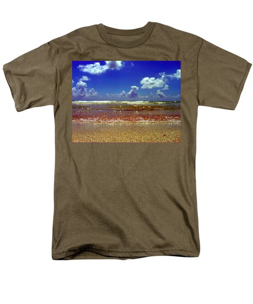 Beach Men's T-Shirt  (Regular Fit) by J Anthony